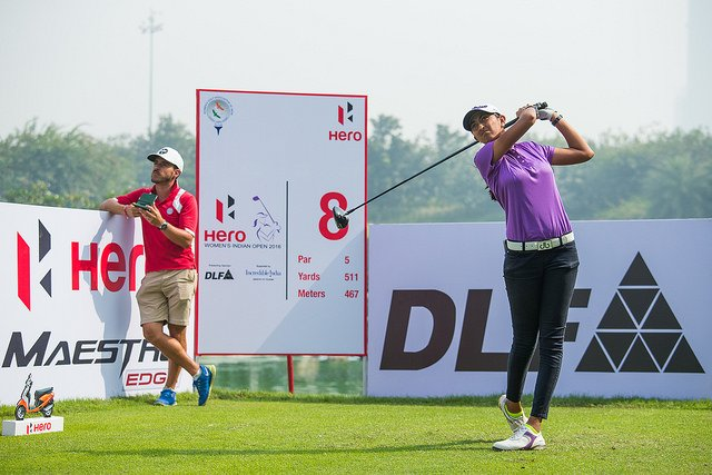 Talented Golfer Aditi Ashok proved her talent to the world #aditigolf