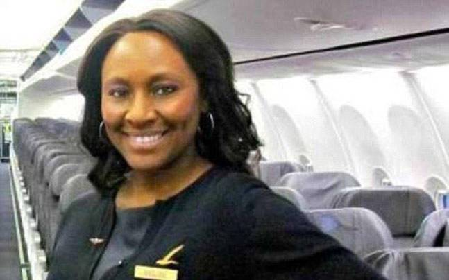 Sheila Frederick , A flight attendent who saves a girl from human trafficking
