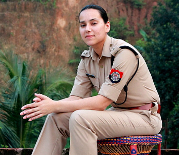 Sanjukta Parashar , who is one of the most formidable cops feared among Bodo Militants
