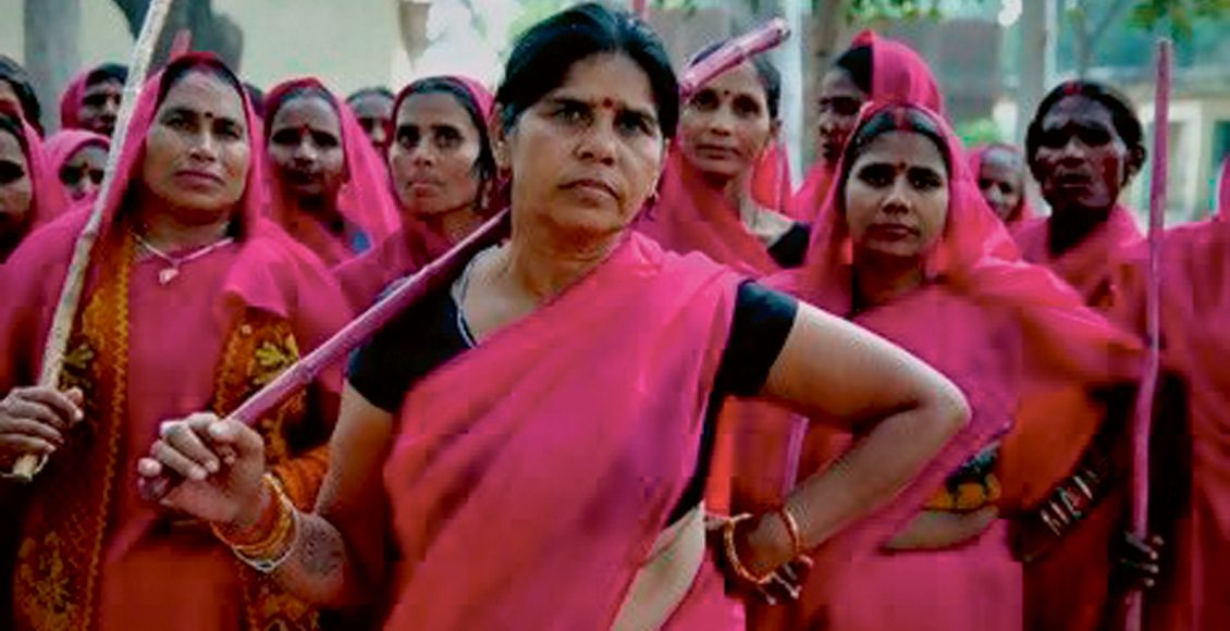 Celebrating the Pink Power of the Gulabi Gang on IWD 2017