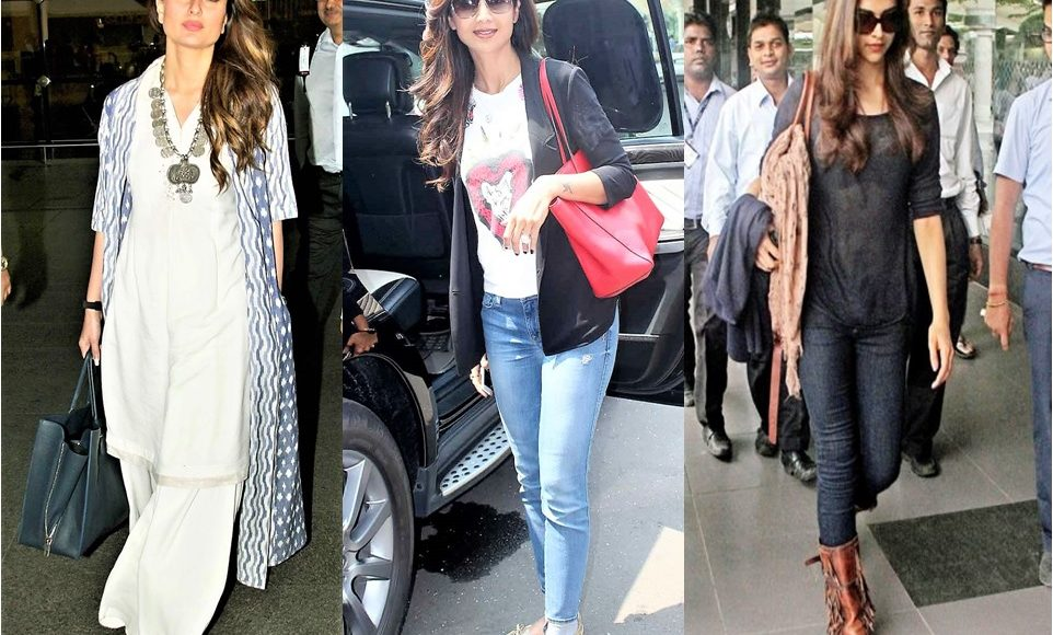Airport Look of Bollywood Actresses