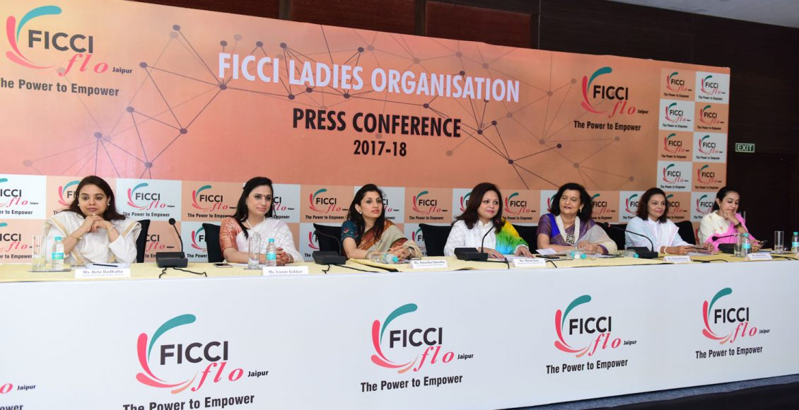 First Press Conference headed by Chairperson FLO Jaipur Chapter Minal Jain