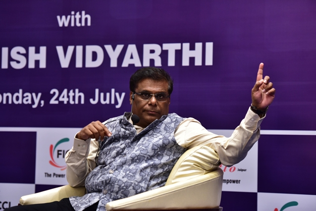 We all are managing roles not Juggling roles , says Ashish Vidyarthi in FICCI FLO event