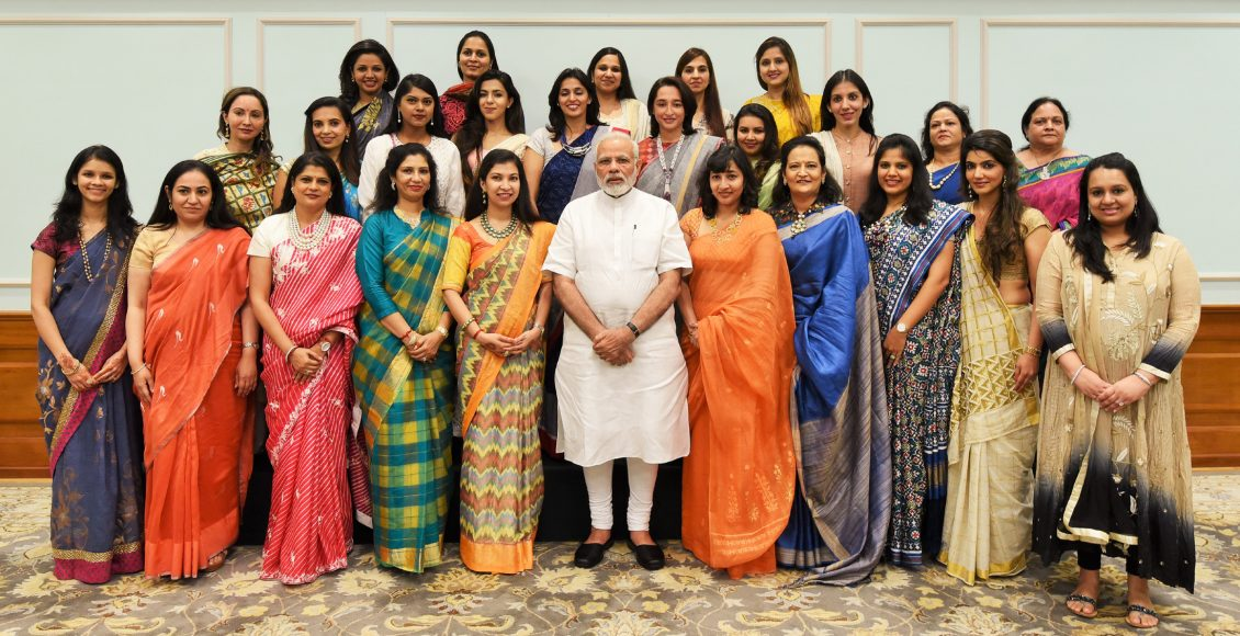 Delegation from Young FICCI Ladies Organisation calls on PM
