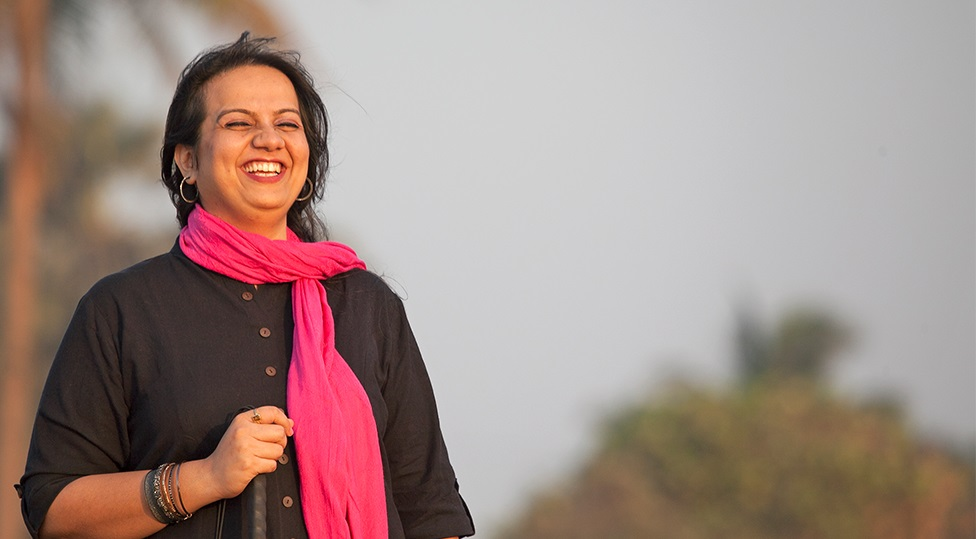 Nidhi Goyal, India's first blind comedienne, is breaking stereotypes