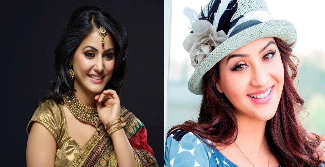 Big Boss 11 Female Contestants…Hina Khan and Shilpa Shinde