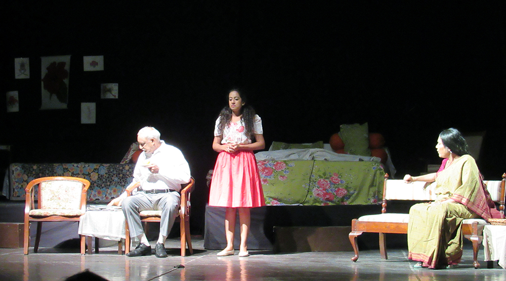 Gandharva Theatre & V.K Poddar Foundation presented play named 'Raktpushp'