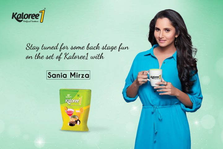 Sania Mirza Scores an Ace by Becoming the Face of Mankind's 'Kaloree1'