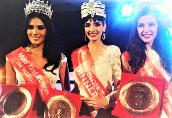 DIMPLE PATEL FROM INDIA WINS MISS GLOBE 2016