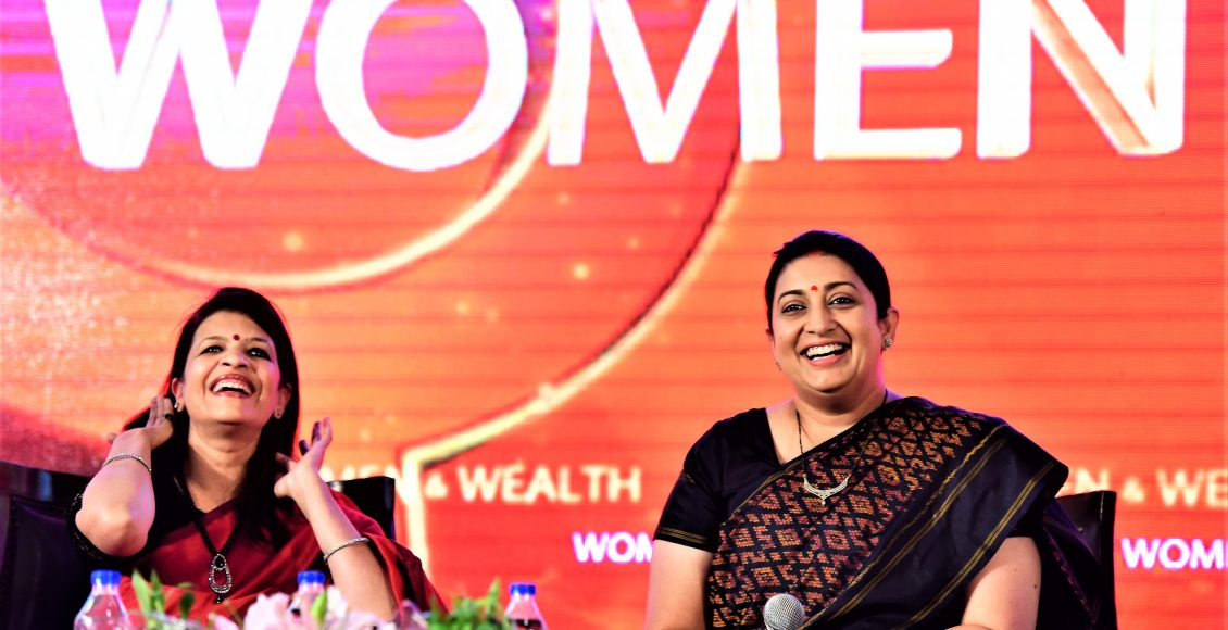 FLO Jaipur chapter organised a panel discussion on Women & Wealth with Union Minister of Textiles Ms. Smriti Irani