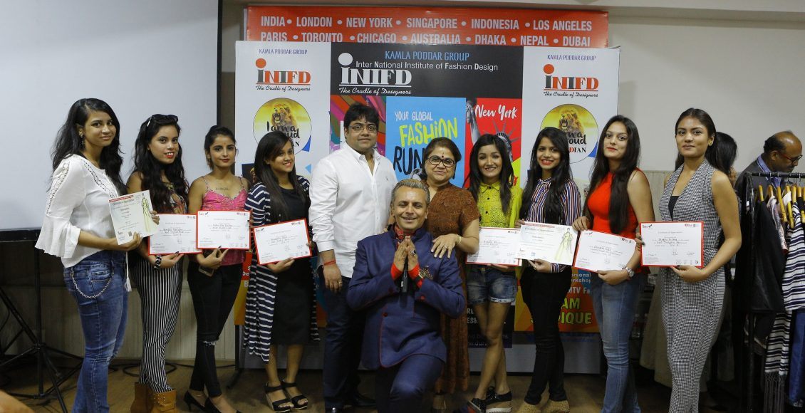 'SMARTER CITIZENS BEFORE SMARTER CITIES' Event on fashion conducted by Imam Siddique at INIFD Jaipur