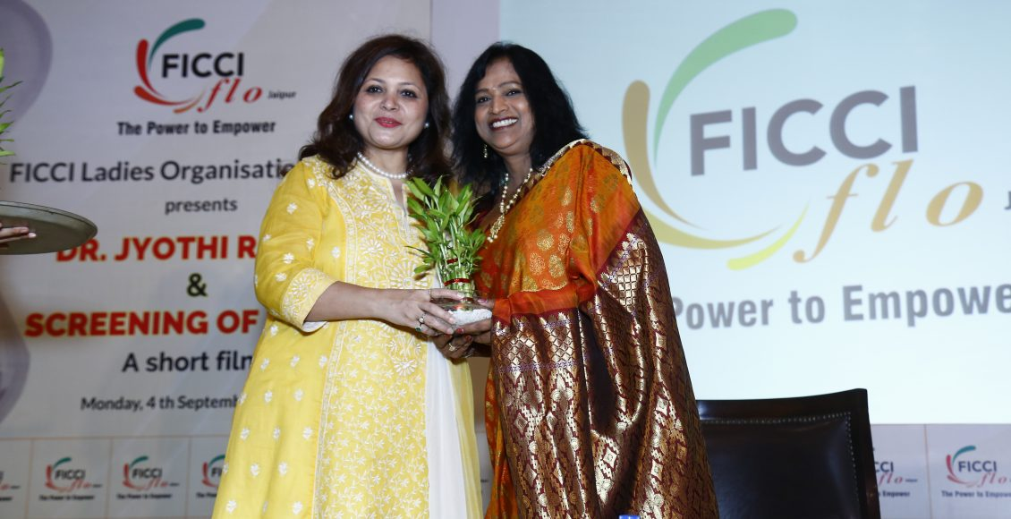 Failure is nothing but experience, Jyothi Reddy at an event organized by FICCI FLO Jaipur Chapter