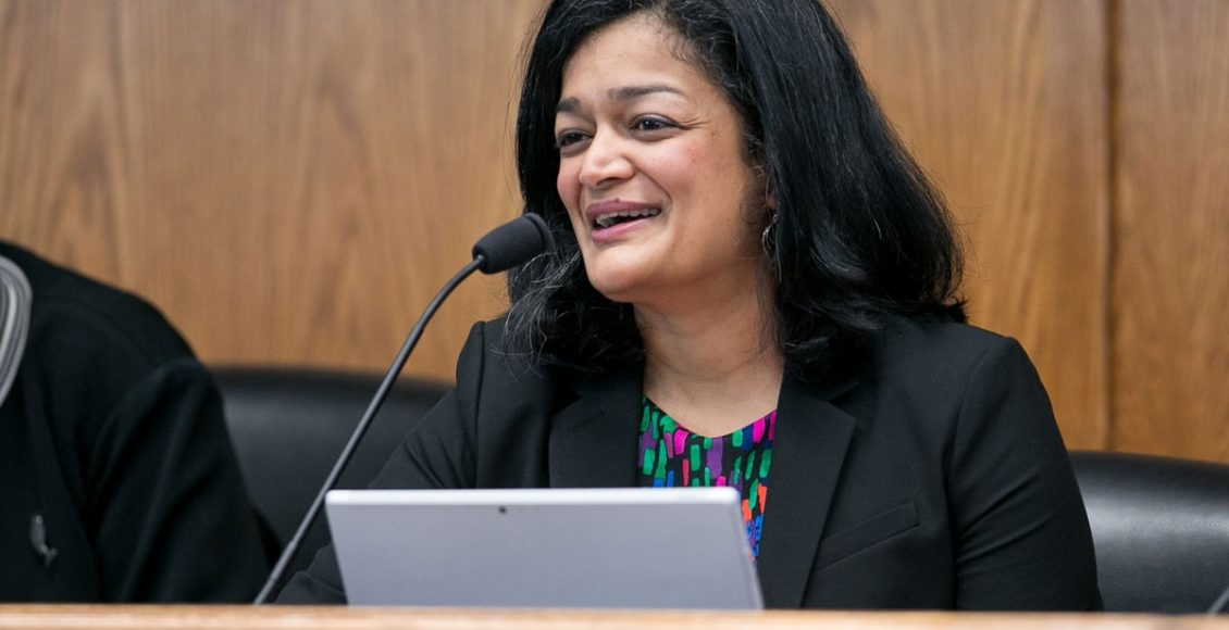 """""""A leader of the resistance"""" – Pramila Jayapal, a fighter and a winner"""