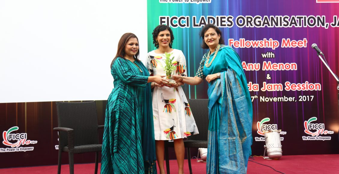Anu Menon brings laughter to all women at FICCI Ladies Organisation