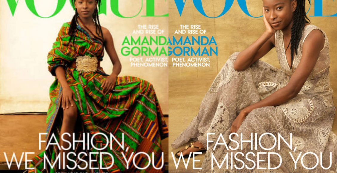 Amanda Gorman becomes first poet to feature Vogue cover