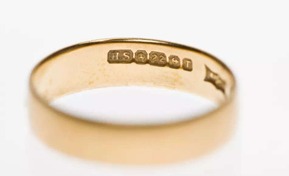 What are those tiny inscriptions on jewellery?